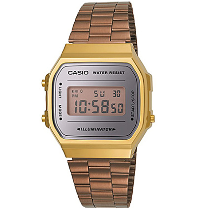 Gold Montre Casio 5ef Rose Collection A168wecm R54jAL