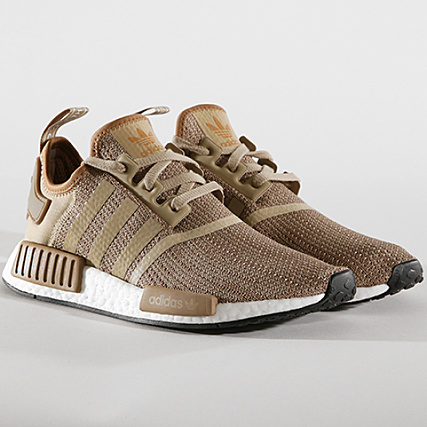 the best attitude 83736 9ecf7 adidas - Baskets NMD R1 B79760 Raw Gold Cardboard Footwear ...