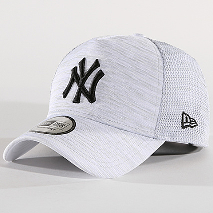 73417a0bf6016 New Era - Casquette Engineered Fit A Frame MLB New York Yankees 80580966 Gris  Chiné - LaBoutiqueOfficielle.com