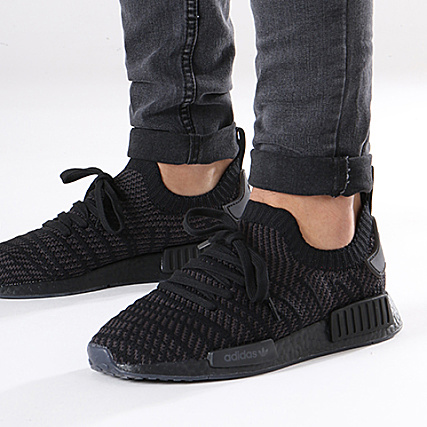 separation shoes be5c4 6b190 adidas - Baskets NMD R1 STLT Primeknit CQ2391 Core Black ...