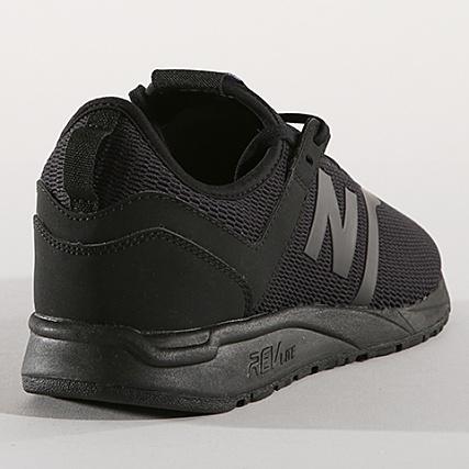 Baskets Black Balance 60 638691 New 8 247 Decon v4dq5