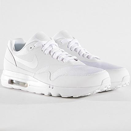 Nike Air Max 1 Ultra 2.0 Essential Homme Chaussure Blanche 875679 100