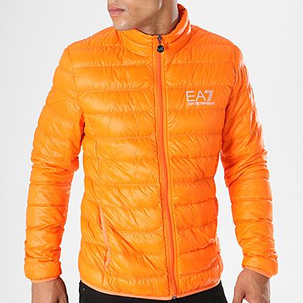EA7 - Doudoune 8NPB01-PN29Z Orange - LaBoutiqueOfficielle.com 79bf4f534a7b