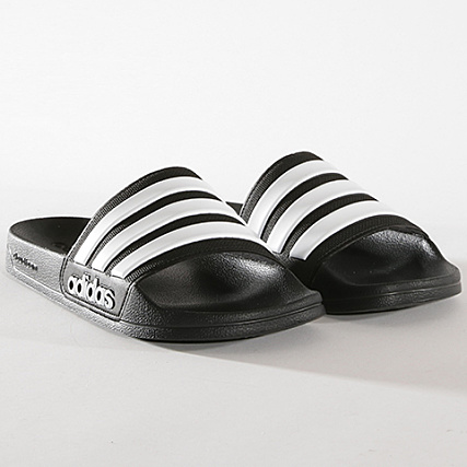 adidas Claquettes Adilette Shower AQ1701 Noir Blanc