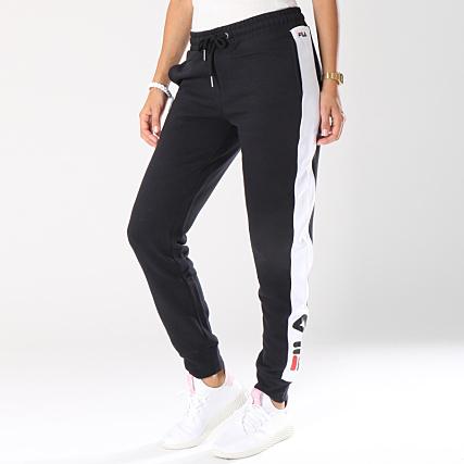 Fila Pantalon Jogging Femme Pippa Noir Blanc