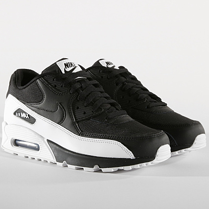 Nike - Baskets Air Max 90 Essential 537384 089 Anthracite White Black -  LaBoutiqueOfficielle.com 6cfc0ec39535