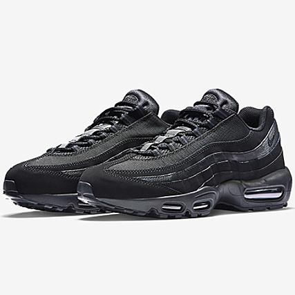 sports shoes 55592 df96b Nike - Baskets Air Max 95 609048 092 Black Anthracite -  LaBoutiqueOfficielle.com