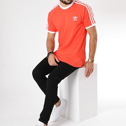 adidas Originals California T shirt Rouge DV2552