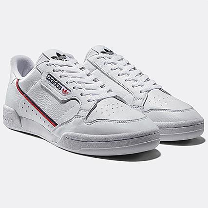 cf020a12b2 adidas - Baskets Continental 80 B41674 Footwear White Scarlet Collegiate  Navy - LaBoutiqueOfficielle.com