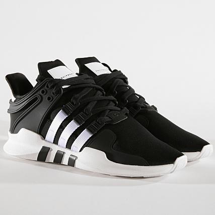 Adv White Baskets Support Black Footwear B37351 Core Adidas Eqt bg6f7y