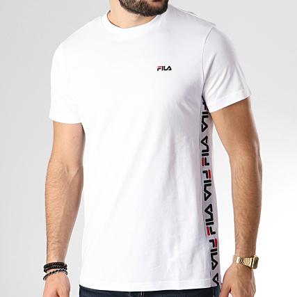 T Shirt Logo Fila Blanc