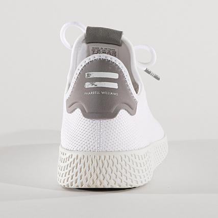 192f607b3 Home   adidas   Pharrell Williams   Baskets - Chaussures   Baskets Basses    adidas - Baskets Tennis HU Pharrell Williams B41793 Footwear White Chalk  White