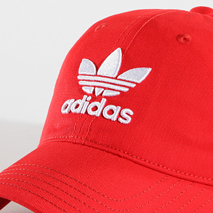 Casquette adidas – Trefoil rougeblanc