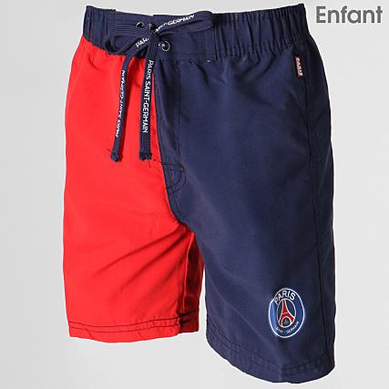 21554e0c0bba8 PSG - Short De Bain Enfant Paris Saint Germain Bleu Marine Rouge -  LaBoutiqueOfficielle.com