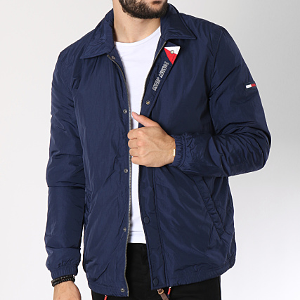 Tommy Jeans Homme Padded Coach Blouson Manches Longues