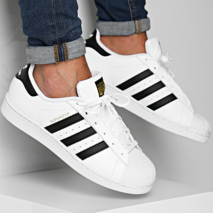 utterly stylish lace up in unique design adidas - Baskets Superstar C77124 Footwear White Core Black ...