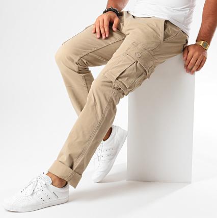 Home   Celio   Jeans - Pantalons   Pantalons Cargo   Celio - Pantalon Cargo  Lobscur Beige 65f3c42be9a