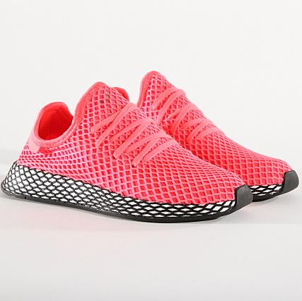 76c3cc277 adidas - Baskets Deerupt Runner B41769 Turbo Core Black -  LaBoutiqueOfficielle.com