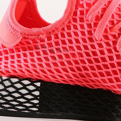 e84c1fe94e6d2 Home   adidas   Baskets - Chaussures   Baskets Basses   adidas - Baskets  Deerupt Runner B41769 Turbo Core Black