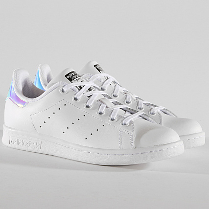 detailed look d959c 487cb adidas - Baskets Stan Smith Femme AQ6272 Footwear White Metal Silver -  LaBoutiqueOfficielle.com