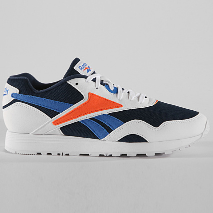 detailed look cdf60 f97fe Home   Reebok   Baskets - Chaussures   Baskets Basses   Reebok - Baskets  Rapide MU CN5907 White Navy Vital Blue Red
