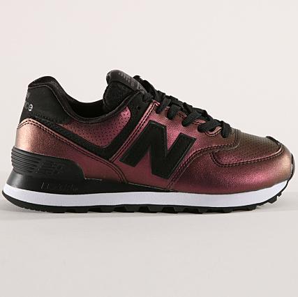 New Balance 574v2 Baskets Femme Noir (Black Black Ksb
