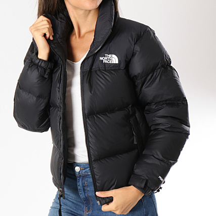 aa87a5d5ff The North Face - Doudoune Femme 1998 Retro 3JQR Noir -  LaBoutiqueOfficielle.com