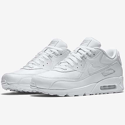 6dee3f72426736 Nike - Basket Air Max 90 Leather 302519 113 True White -  LaBoutiqueOfficielle.com