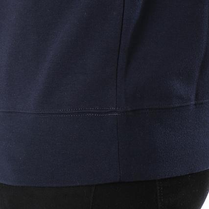 Zippé And Marine Bleu Fern Jones Col Avec Bandes Sweat Jack x6IRgwUqg