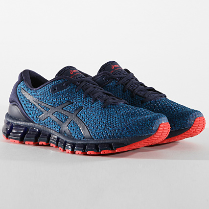 bb7410c76d4 Asics - Baskets Gel Quantum 360 Knit 2 T840N Race Blue Peacoat -  LaBoutiqueOfficielle.com