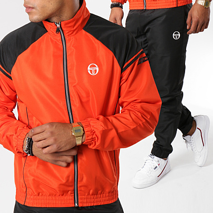 32ba5328e0b Sergio Tacchini - Ensemble De Survetement 37741 Orange Noir -  LaBoutiqueOfficielle.com