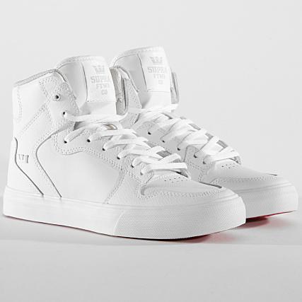 101 Supra Vaider Femme Baskets 58203 White NkPX8Onw0Z