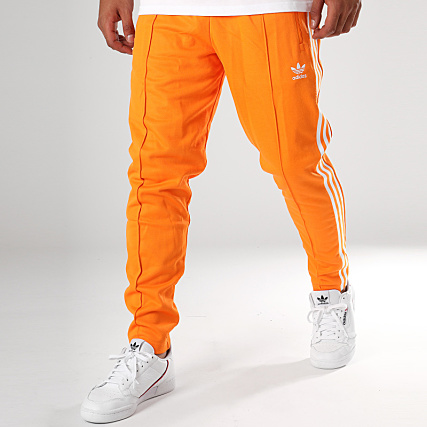 professional sale on feet shots of the cheapest adidas - Pantalon Jogging Beckenbauer DH5819 Orange ...