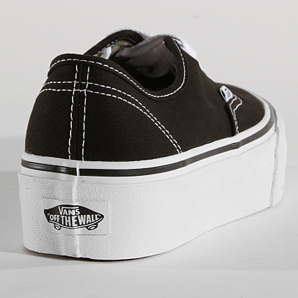 Vans Baskets Femme Authentic Platform A3AV8BLK Black