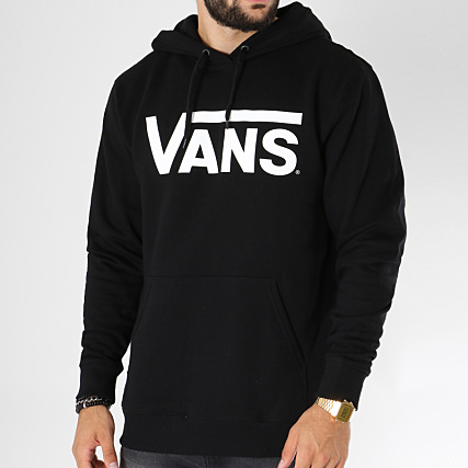 Vans Sweat Capuche Classic HD Noir