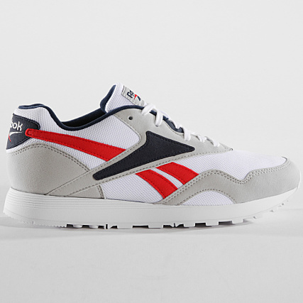 01d3a79313b Home   Reebok   Baskets - Chaussures   Baskets Basses   Reebok - Baskets Rapide  MU CN5906 Skull Grey White Collegiate Navy Primal Red