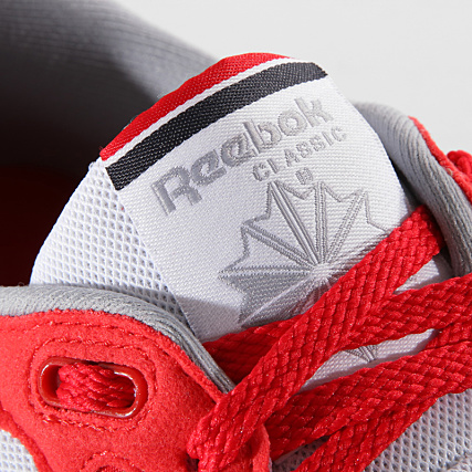 5c5b447da1d9c3 Home   Reebok   Baskets - Chaussures   Baskets Basses   Reebok - Baskets Classic  Leather CN3778 Primal Red Cool Shadow Graphite Silver