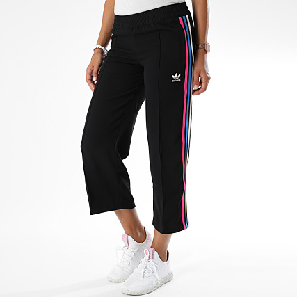 adidas - Pantalon Jogging Femme 7 8 DH4206 Noir Rose Bleu Clair -  LaBoutiqueOfficielle.com c97a08fc468