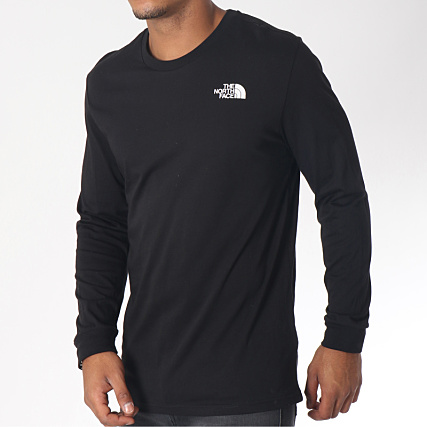 65fddd206c3 The North Face - Tee Shirt Manches Longues Simple Dome Noir -  LaBoutiqueOfficielle.com