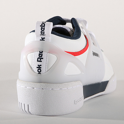 5ea902089390a Home   Reebok   Baskets - Chaussures   Baskets Basses   Reebok - Baskets Workout  Advance Low CN4309 White Collegiate Navy Red