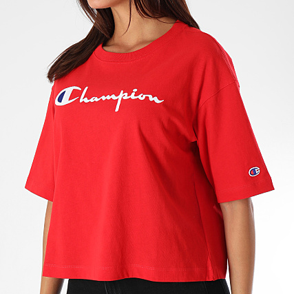 110993 Femme Rouge Champion Tee Shirt EDH2W9I