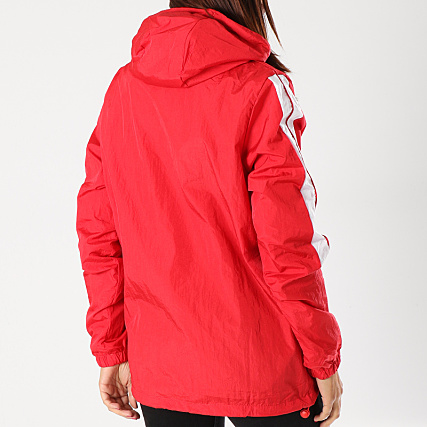 veste ellesse femme rouge fourur