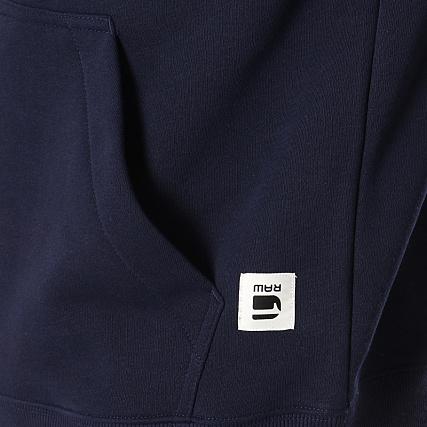 G Star Sweat Capuche Core HDD D11296 A433 Bleu Marine Vert