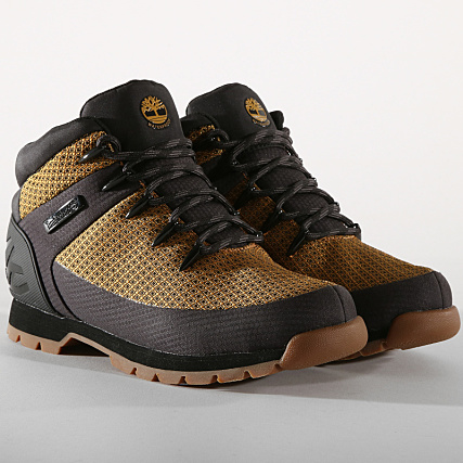 af64c1abd09a2c Timberland - Boots Euro Sprint Fabric A1QHQ Wheat - LaBoutiqueOfficielle.com