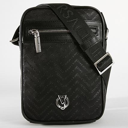 Versace Chevron E1ysbb17 Linea Jeans Sacoche Dis Noir 8 45ARLj