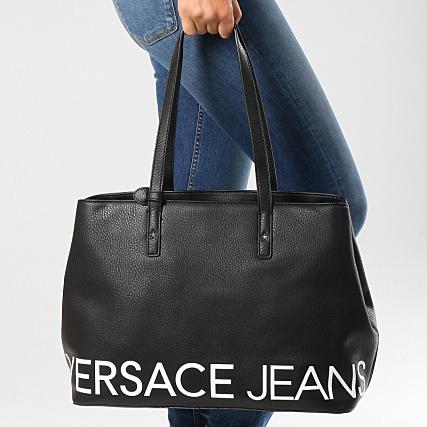 6b5e4c8090be Versace Jeans - Sac A Main Femme Linea B Dis 1 E1VSBBB1 Noir -  LaBoutiqueOfficielle.com