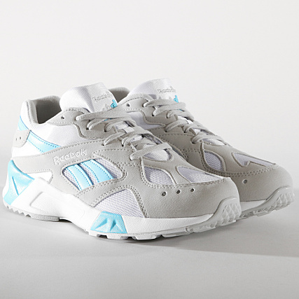 8b501ba60b44 Reebok - Baskets Aztrek CN7473 Skull Grey White Digital Blue -  LaBoutiqueOfficielle.com