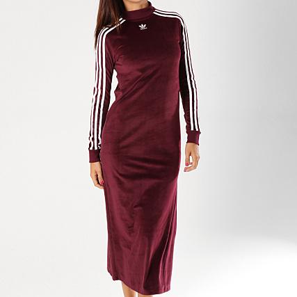 robe adidas bordeaux