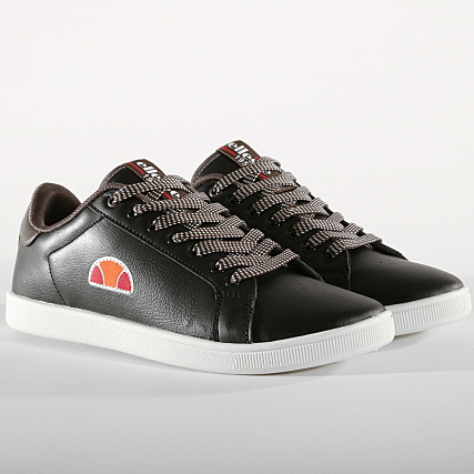 Emeric Whisper Ellesse Baskets Black El829412 05 qR435AjL