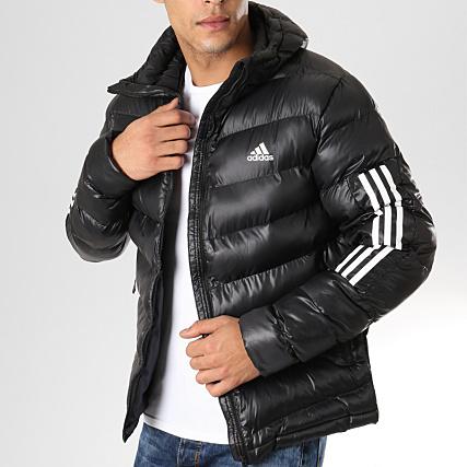 0f65ad12d70 adidas - Doudoune Itavic 3 Stripes BQ6800 Noir Blanc -  LaBoutiqueOfficielle.com
